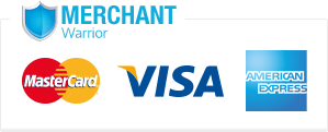 Merchant Warrior Secure Payments - Visa, MastercCard & American Express Accepted